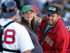 Ben & Jen, great Sox fans