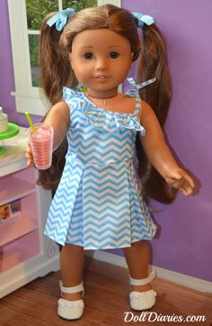 Giveaway – Daydream Doll Boutique Perfectly Chevron Ruffle Dress