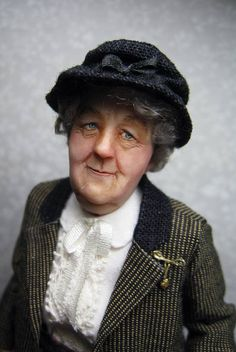 Miss Marple by Sharon Cariola.