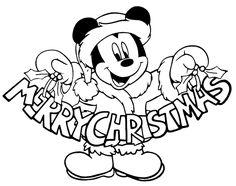 Christmas Coloring Sheets, Printable Christmas Coloring Pages, Free Christmas Printables, Free Disney Coloring Pages, Mickey Mouse Coloring Pages, Disney Halloween Coloring Pages, Natal Do Mickey Mouse, Mickey Mouse Christmas, Colorful Christmas Tree