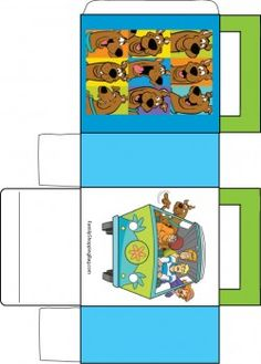 Scooby and Gang Box Favor Box