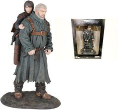 """Game of thrones #hodor and bran 9"""" inch pvc #statue #figure dark horse 23cm, View more on the LINK: http://www.zeppy.io/product/gb/2/252393643096/"""