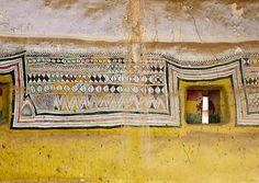 Al khalaf village, decoration in an old house , Saudi Arabia by Eric Lafforgue | Flickr - Photo Sharing!