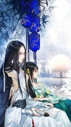 Chinese Art Girl Anime New Ideas Anime Love Couple, Manga Couple, Couple Art, Manga Art, Manga Anime, Anime Art, Feng Shui, Chinese Artwork, Chinese Drawings