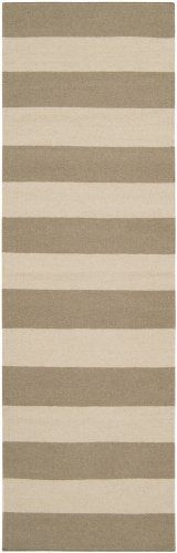 """Surya Frontier FT51-268 Beige 2'6 x 8'0 RUNNER Rug Hand-made Wool by Surya. $198.00. Hand Woven (Flatweave). Durable and easy to clean. FREE 7 day home trial. FREE shipping. Surya Frontier FT51-268 Beige 2'6"""" x 8'0"""" RUNNER Rug. Origin: India. Pile: 100% Wool. Colors: Beige/Ivory. The Casual styling of this rug will bring life to any décor. Frontier Collection features a series of flat-weave reversible designs with tribal and casual themes. Hand woven in India, these ..."""