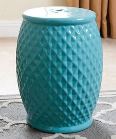 Luxury Green Ceramic Garden Stool
