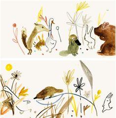 Patricia Metola's animal friends.