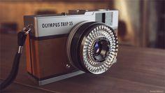 Olympus Trip 35 by Cerebrate