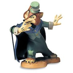 "A sneaky fox with something cunning on his mind. ""FELONIOUS FOX"" - J. WORTHINGTON FOULFELLOW FIGURINE Walt Disney Classics Collection #Disney #WDCC"