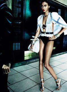 Joan Smalls by Mario Testino for Vogue Brasil June 2013