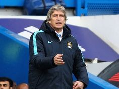 Manchester City manager Manuel Pellegrini insists that Saturday's Premier League game against Stoke City takes precedence over their European tie with Real Madrid. Southampton Football, Southampton Fc, Chelsea Football, Chelsea Fc, Premier League, Joe Mercer, City Of Manchester Stadium, Real Madrid Football Club, Beginning Sounds