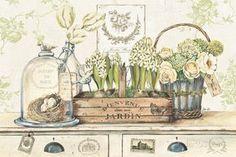 Dan mon Jardin Kunstdrucke von Stefania Ferri bei AllPosters.de
