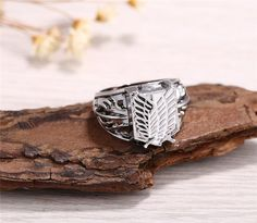 Attack on Titan Wings Of Liberty - RingYou can buy it here-->> https://the-gift-shack.com/collections/attack-on-titan/products/attack-on-titan-wings-of-liberty-ring