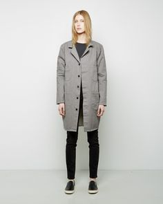 6397 / Work Coat, 6397 / Loseth Not Sweatshirt, 6397 / Loose Skinny Jean, Maison Martin Margiela Line 22 / Slip-On Skate Shoe #ps15
