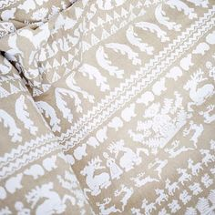 textiles by saana ja olli Folk Clothing, Finland, Contemporary Design, Print Patterns, Roots, Pattern Design, Textiles, Traditional, Wallpaper