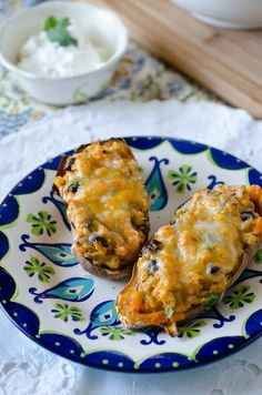 Southwestern Stuffed Sweet Potatoes.