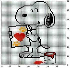 all snoopy and peanuts