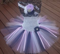 Hey, I found this really awesome Etsy listing at https://www.etsy.com/listing/194874914/lavender-white-navy-blue-tutu-dress-and