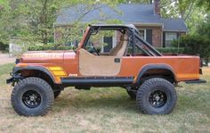 Jeep Scrambler Photos - a few photos of my jeep scrambler project and numerous other photos of the jeep scrambler or Cj Jeep, Jeep Cj7, Jeep Wrangler Tj, Jeep Pickup, Jeep Truck, Dodge Trucks, Lifted Trucks, Ducati Scrambler, Scrambler Motorcycle