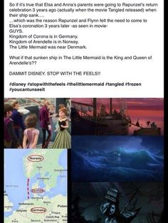 Evidence for the theory that all Disney movies take place in the same universe.
