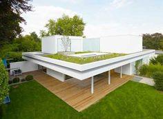 si te gusta el verde... por que no aprovechar tambien la terraza?