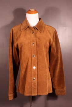W&W suede jacket, made in Canada, men's size M, available at our eBay store! $35