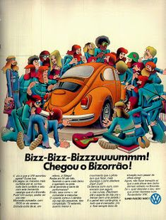 Volkswagen Brazil in the Volkswagon Bug, Vw Vintage, Vw Cars, Chevrolet Bel Air, Old Ads, Toy Trucks, Vw Beetles, Classic Cars, Times
