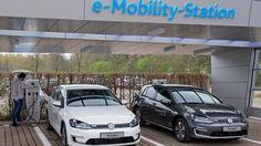 Ein VW für's Schaufenster: Erster E-Golf rollt in Dresden vom Band