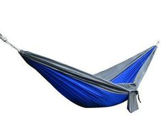 Portable 1 Person Parachute Hammock Swing Indoor & Outdoor Use 230x90cm