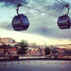 Teleférico de Gaia Portugal, Wine Tasting, Nice View, Images, Train, Car, Rock, Places, Port Wine