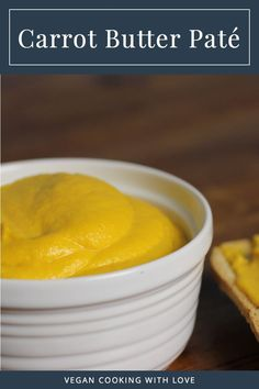 Carrot Butter Paté from Vegan Cooking with Love