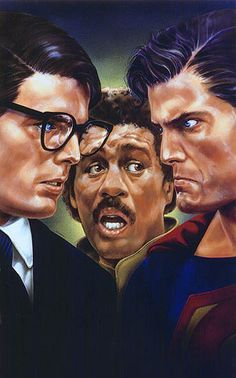 Christopher Reeve and Richard Pryor, Superman III