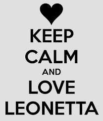 Keep calm and LOVE LEONETTA