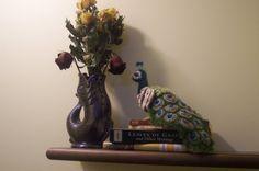 Crochet peacock