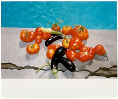 """View """"Pomodoro by Wolfgang Tillmans on artnet. Browse upcoming and past auction lots by Wolfgang Tillmans. Photography Collage, Photography Projects, Still Life Photography, Robert Mapplethorpe Photography, Wolfgang Tillman, Los Angeles Museum, Fruit Picture, Photo Art, Artsy"""