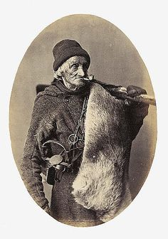 François Gros-Louis, Fur trapper, William Notman