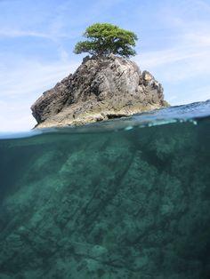 High Rock  Mergui Archipelago, Burma #Burma #BurmaDiveSite #ScubaDiving #HighRock