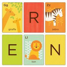 Alphabet Art Cards - Animals A-Z