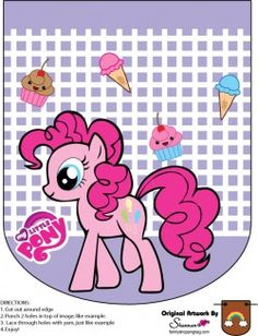 {free} printable My Little Pony Banner Pinkie Pie