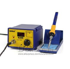 66.60$  Watch here - http://ali493.shopchina.info/go.php?t=32410494441 - Free shipping 220V 70W YIHUA 939D Constant temperature Antistatic Soldering Station Solder Iron +Heat Element+Tweezer  #buymethat