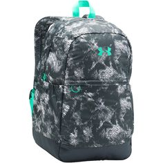 Under Armour Girls Favorite Backpack ($36) ❤ liked on Polyvore featuring bags, backpacks, grey, padded backpack, day pack backpack, multi pocket bag, under armour and rucksack bags