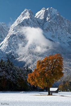 Garmisch (Germany)- I skied on this mountain when I was a little girl :)!