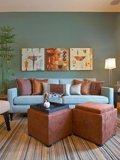 Double the Function - Living Room Looks We're Loving on HGTV