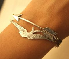 #Bird & #Arrow #Linked #Bracelets