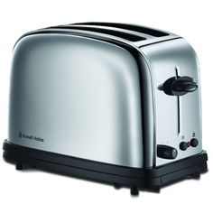 Russell Hobbs 2 Slice Retro Style Toaster Red Stainless Steel TR9150RDR