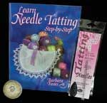"fantastic needle tatting how-to---""SEW"" EASY...lol!!!!  The DVD helps a lot.  Try it!"