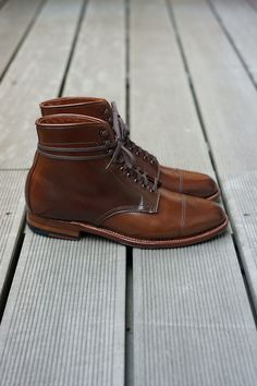 Alden Hunting Boot - Ravello Shell Cordovan, Flex-Welt, Waterloc Sole, Barrie Last