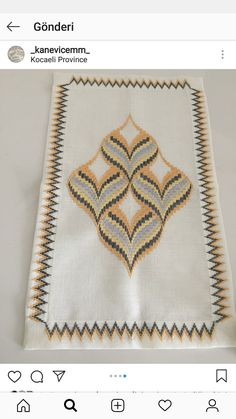 Broderie Bargello, Bargello Needlepoint, Swedish Weaving Patterns, Bargello Patterns, Needlepoint Designs, Cross Stitch Embroidery, Knitting, Sewing, Crochet