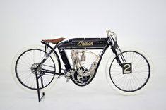 Jim Prosper 1911 Indian board track racer