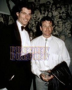 Christopher Reeve & Robin Williams